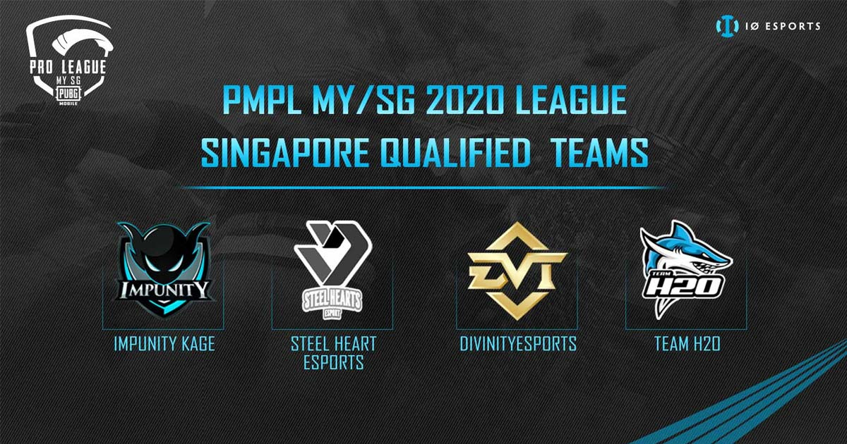IO Esport Top 4 Singaporean Teams of Qualifier Finals To Go To PMPL MY/SG 2020 League