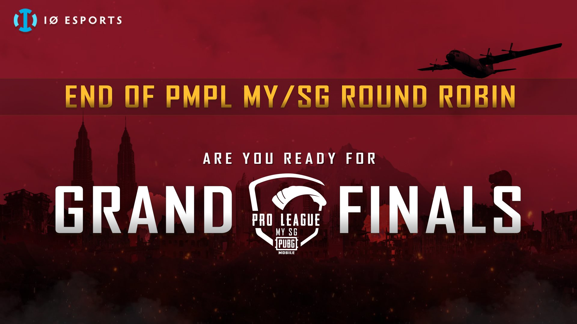 IO Esport Get Ready For PMPL Grand Finals